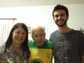Gorete, padre Jonas e Rafael